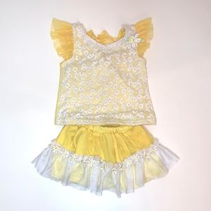 Little Lass Two Piece Toddler Girl Set Size 18 M